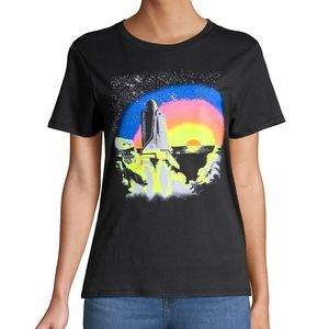 Prince Peter Collection Neon Graphic Print Tee M